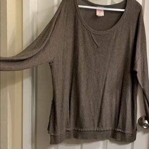 Olive plus knit sweater
